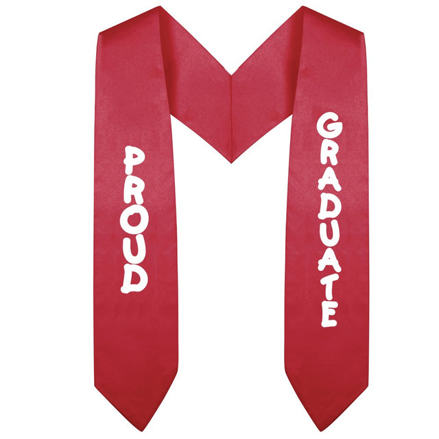 Red Preschool & Kindergarten Imprinted Graduation Stole - Stoles.com