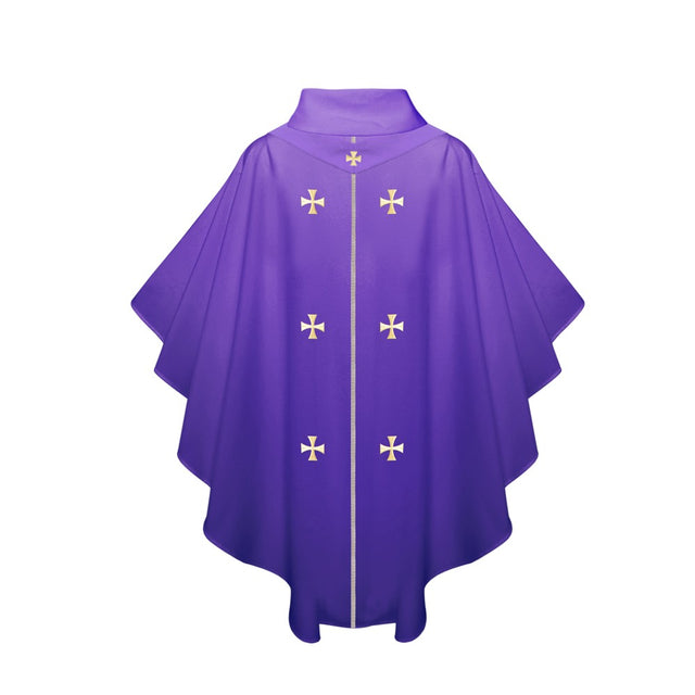 Purple Chasuble - Stoles.com
