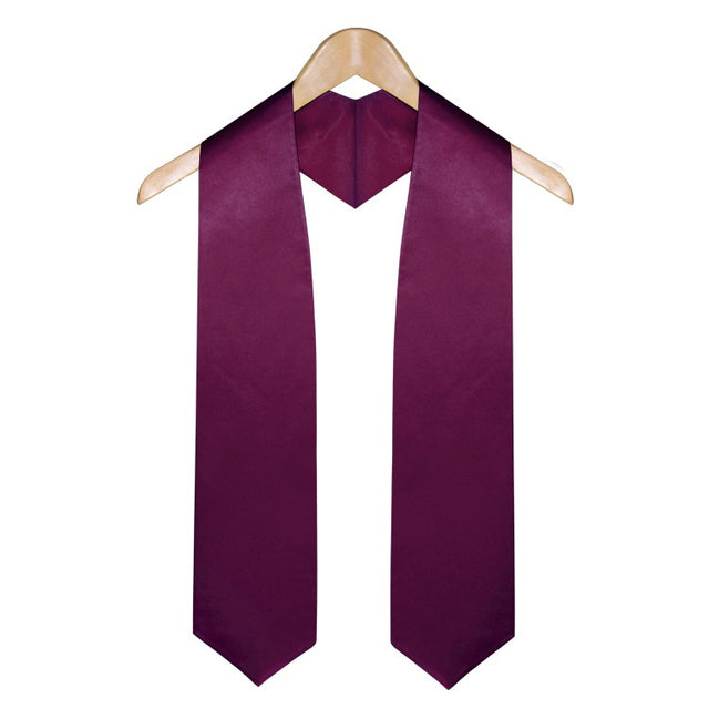Maroon High School Graduation Stole - Stoles.com