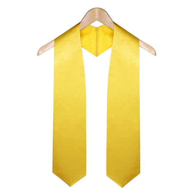 Gold Elementary & Middle School Graduation Stole - Stoles.com