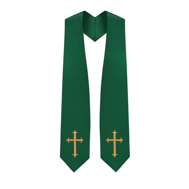 Hunter Choir Stole with Crosses - Stoles.com