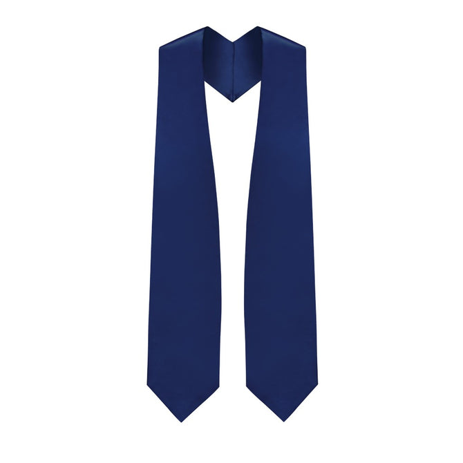 Navy Blue Choir Stole - Stoles.com