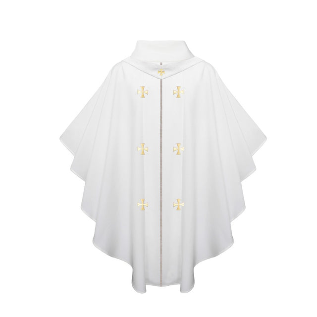 White Chasuble - Stoles.com