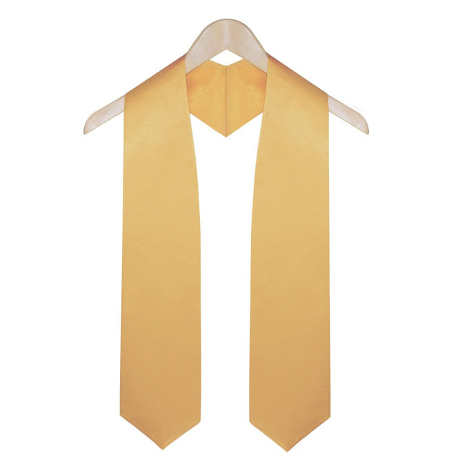 Antique Gold Elementary & Middle School Graduation Stole - Stoles.com