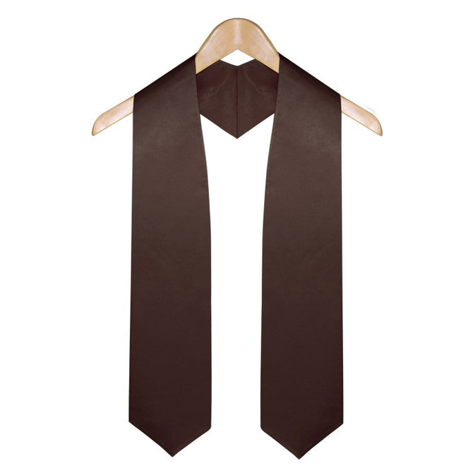 Brown High School Graduation Stole - Stoles.com