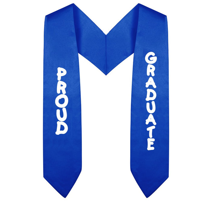 Royal Blue Preschool & Kindergarten Imprinted Graduation Stole - Stoles.com