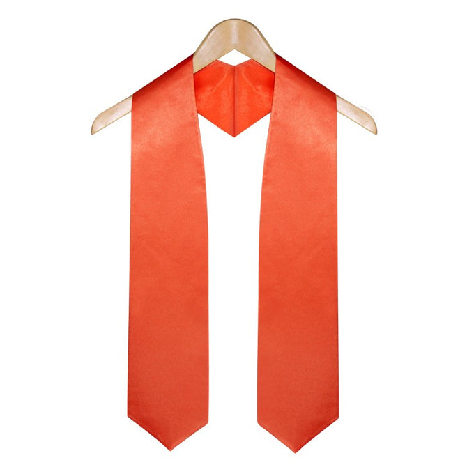 Orange High School Graduation Stole - Stoles.com