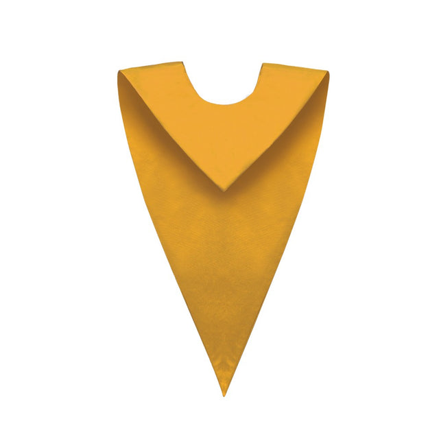 Gold V-Neck Choir Stole - Stoles.com
