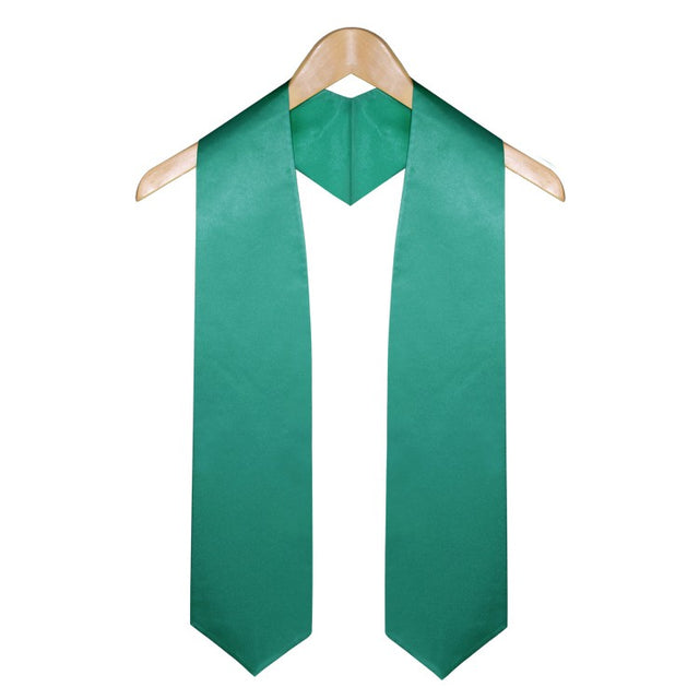 Emerald Green University & College Graduation Stole - Stoles.com