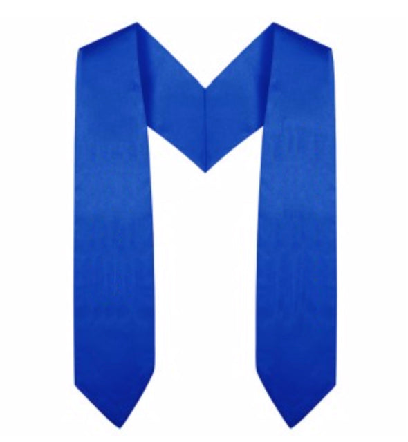 Royal Blue Preschool & Kindergarten Graduation Stole - Stoles.com