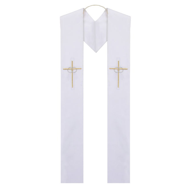 Reversible Baptism to Wedding Stole - Stoles.com