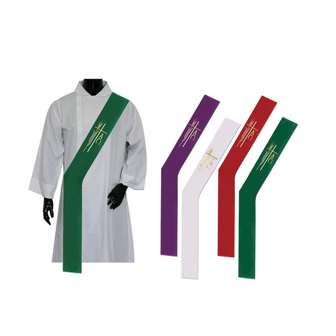 Purple Deacon Stole - Stoles.com