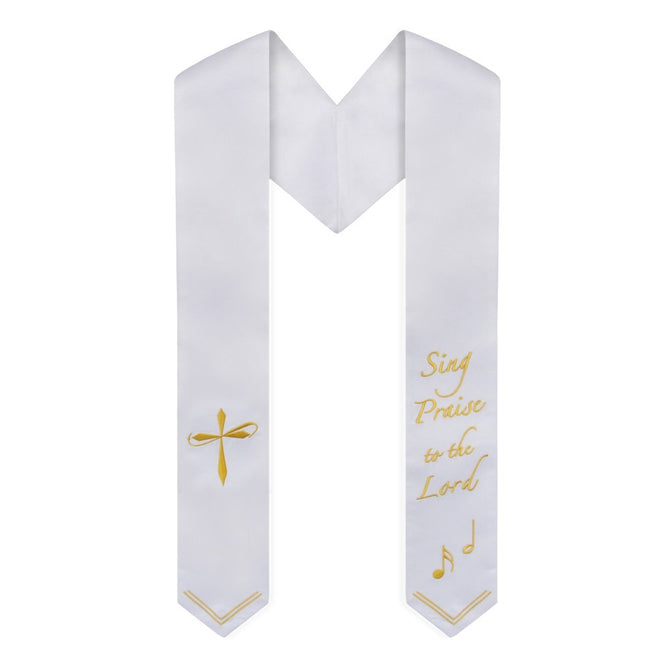 Sing Praise to the Lord Choir Stole - Stoles.com