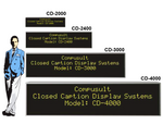 Closed Caption Display Systems
