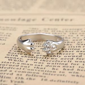 ANILLO AMOR ANIMAL PLATA - Animal Choice - REGALOS