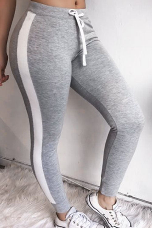 Trendylov Sporty Color Patchwork Legging