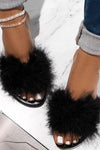 Trendylov Casual Solid Color Beach Flat Slipper