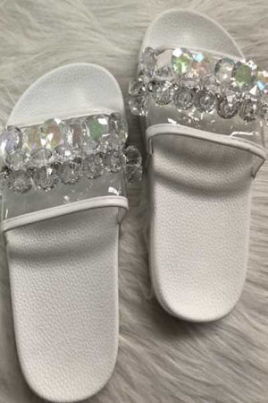 Trendylov Casual Crystal Beach Slipper