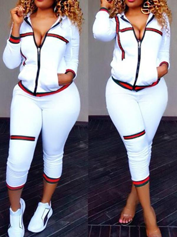 Meshbelt Long Sleeve Sports Suits