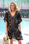 2020 Tunics for Beach Swimsuit Cover-up Women Swimwear Long Kaftan Beach Cover-up Beachwear Beach Dress
