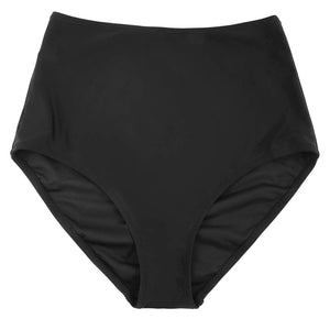 Women High Waist Bikini Swimsuit Bottom Ruched Bikini Tankini Swimsuit Briefs Beach Bathing Swimwear Biquine Bottoms