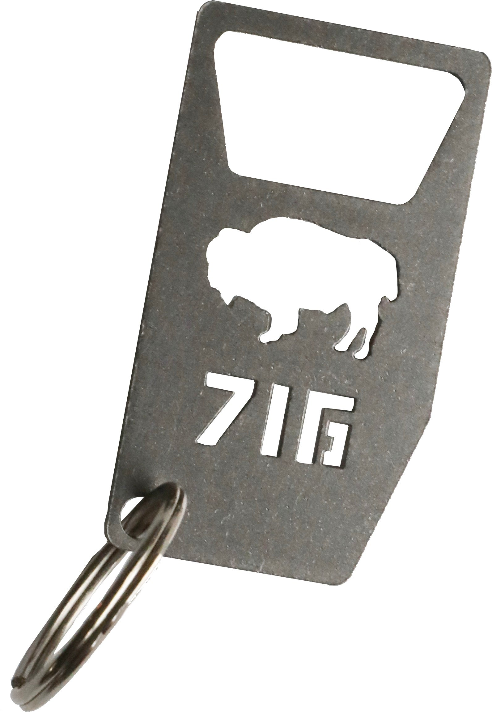 716 Bottle Opener Keychain