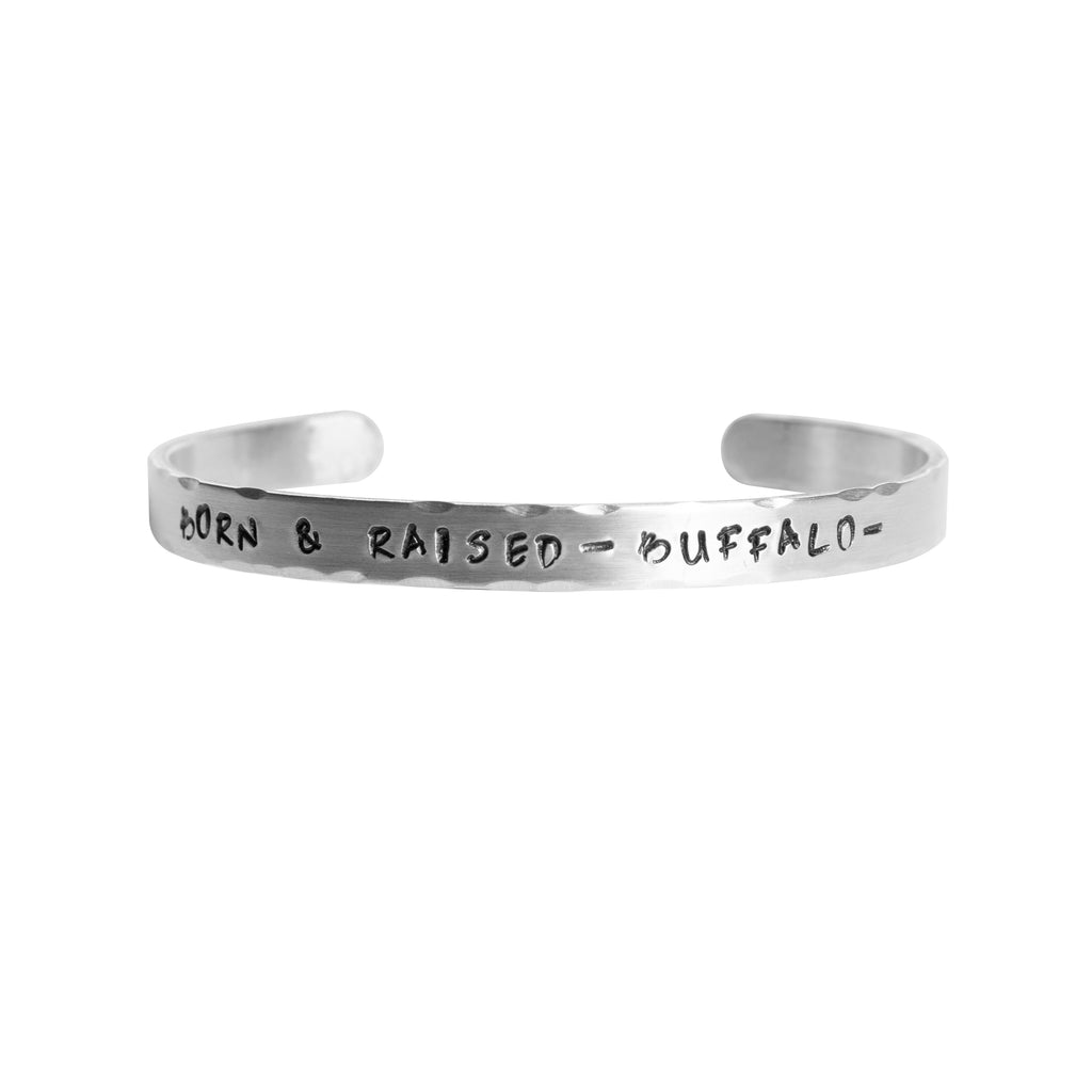 Born and Raised Buffalo Bangle