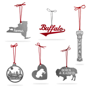 "Buffalo ""6 Pack"" Ornaments"