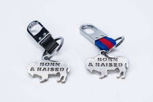 Born & Raised Keychain