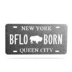 BFLO Born License Plate Magnet
