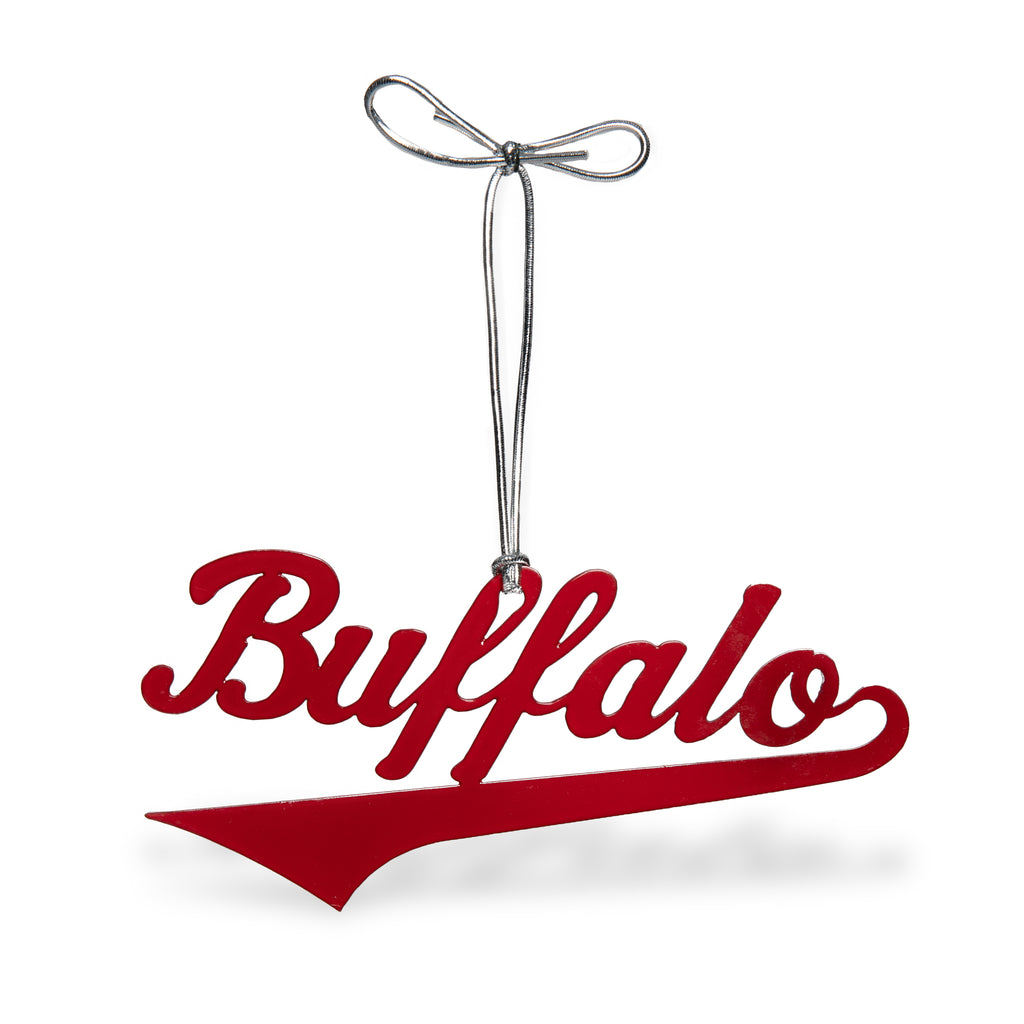 Buffalo Script  Ornament