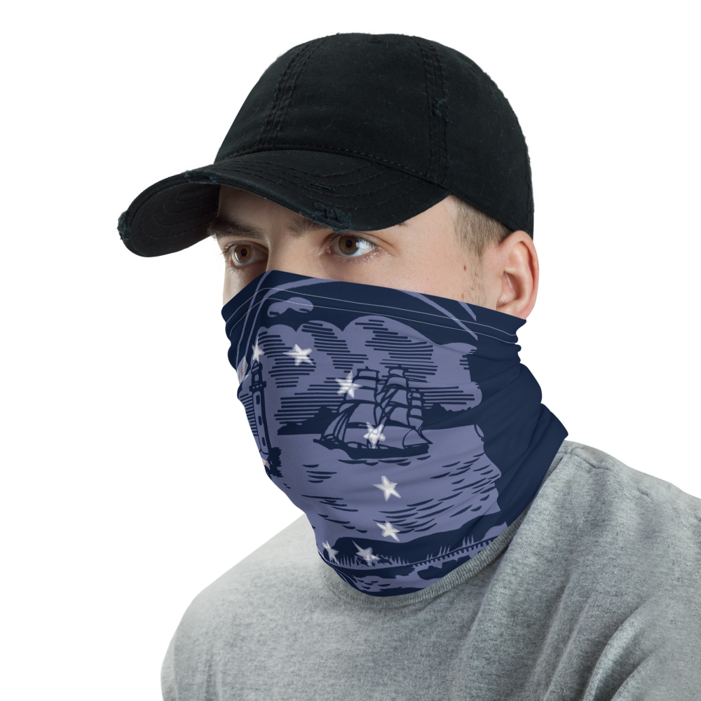 Buffalo City Seal Face Mask