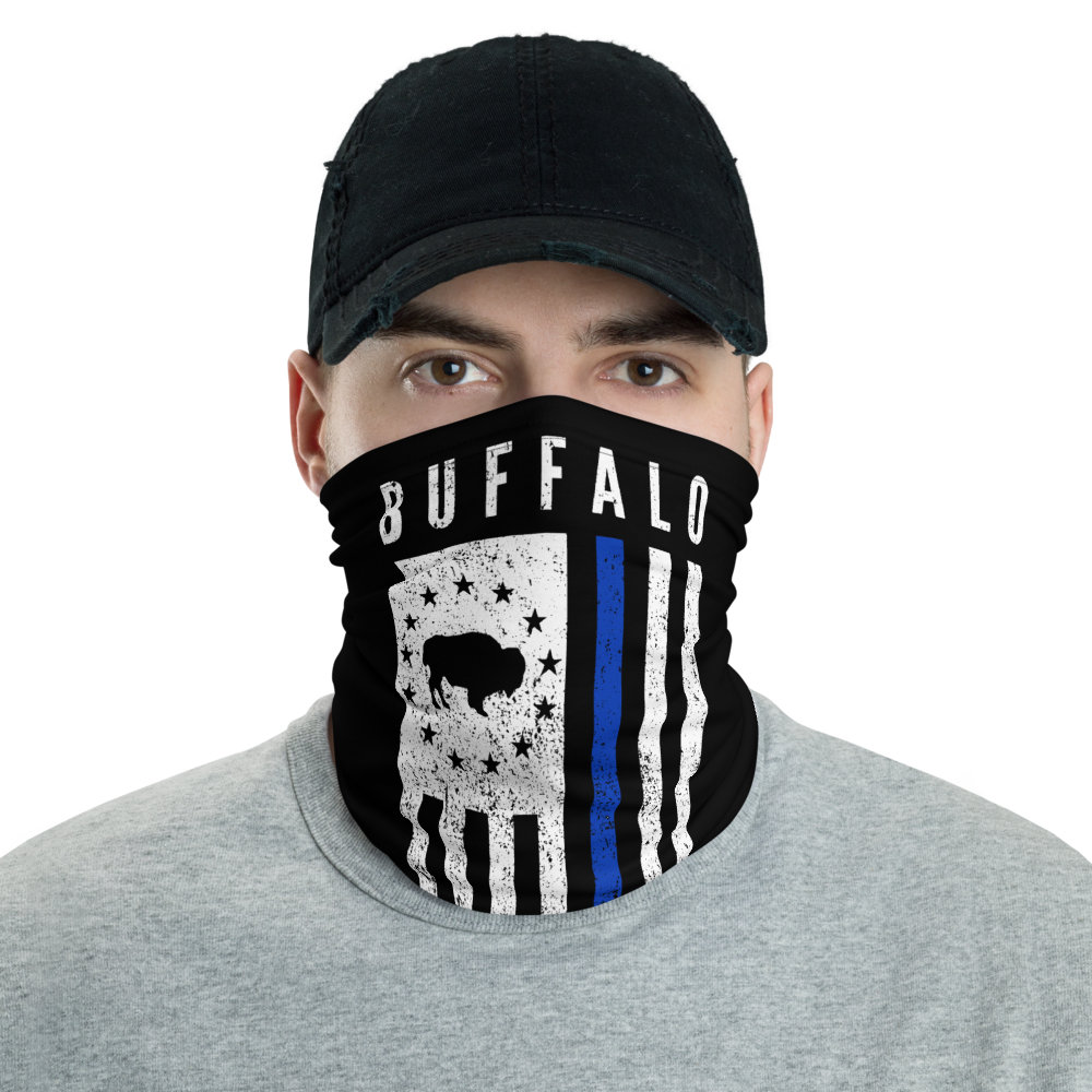 Buffalo Law Enforcement Face Mask