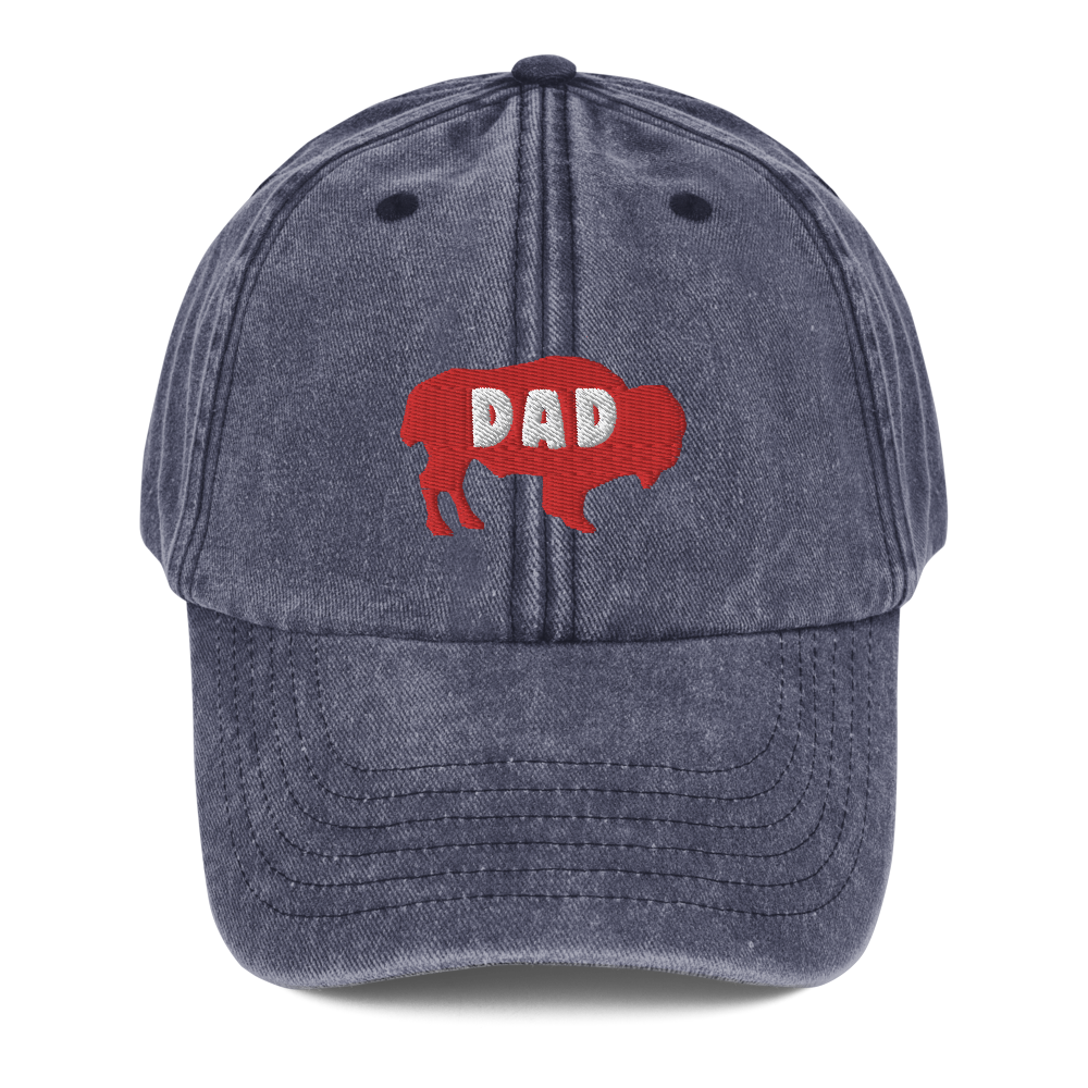 Buffalo Dad Vintage Hat