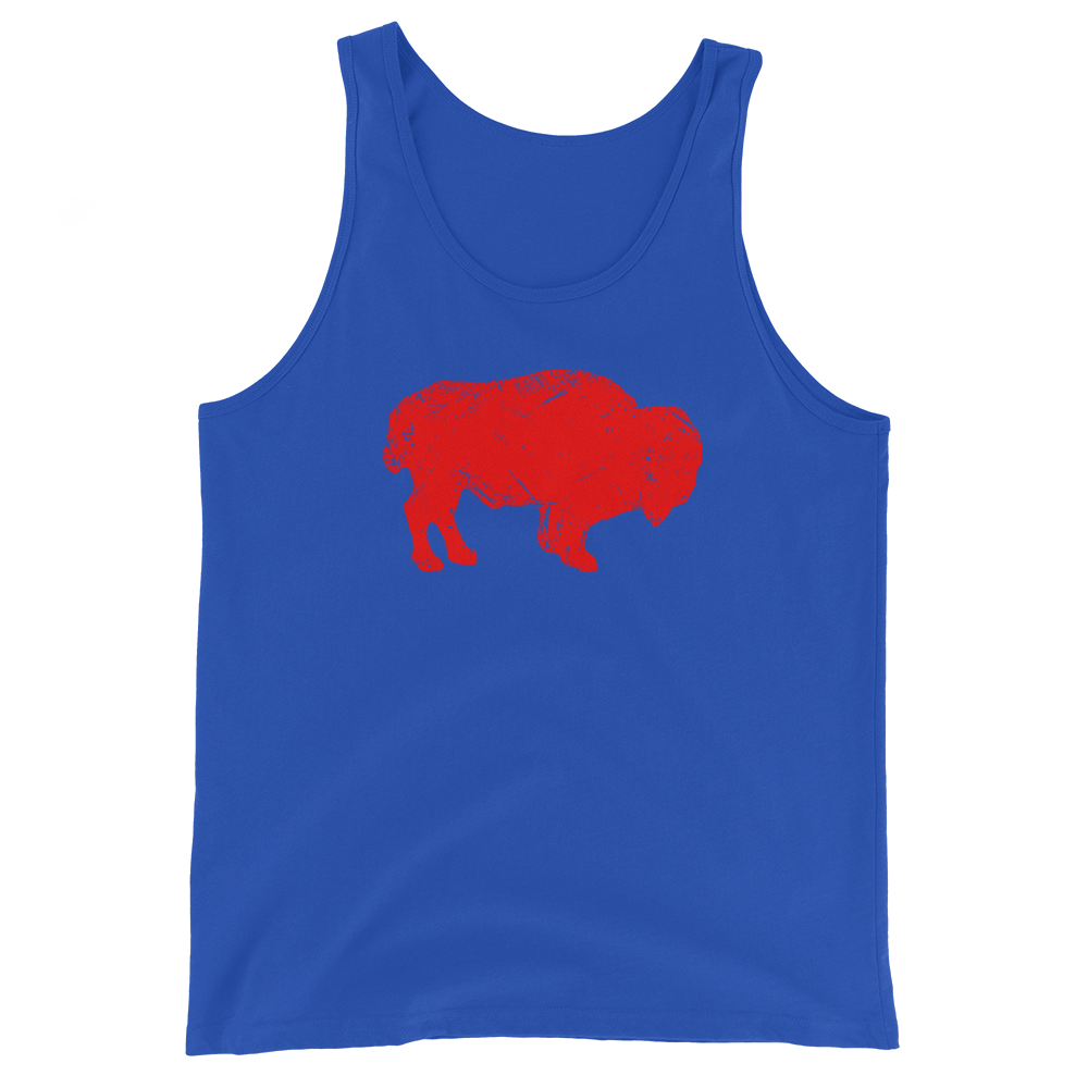 Painted Buffalo Unisex Tank Top