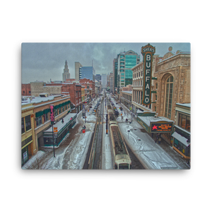 Main St. Buffalo Wegmans Version Canvas