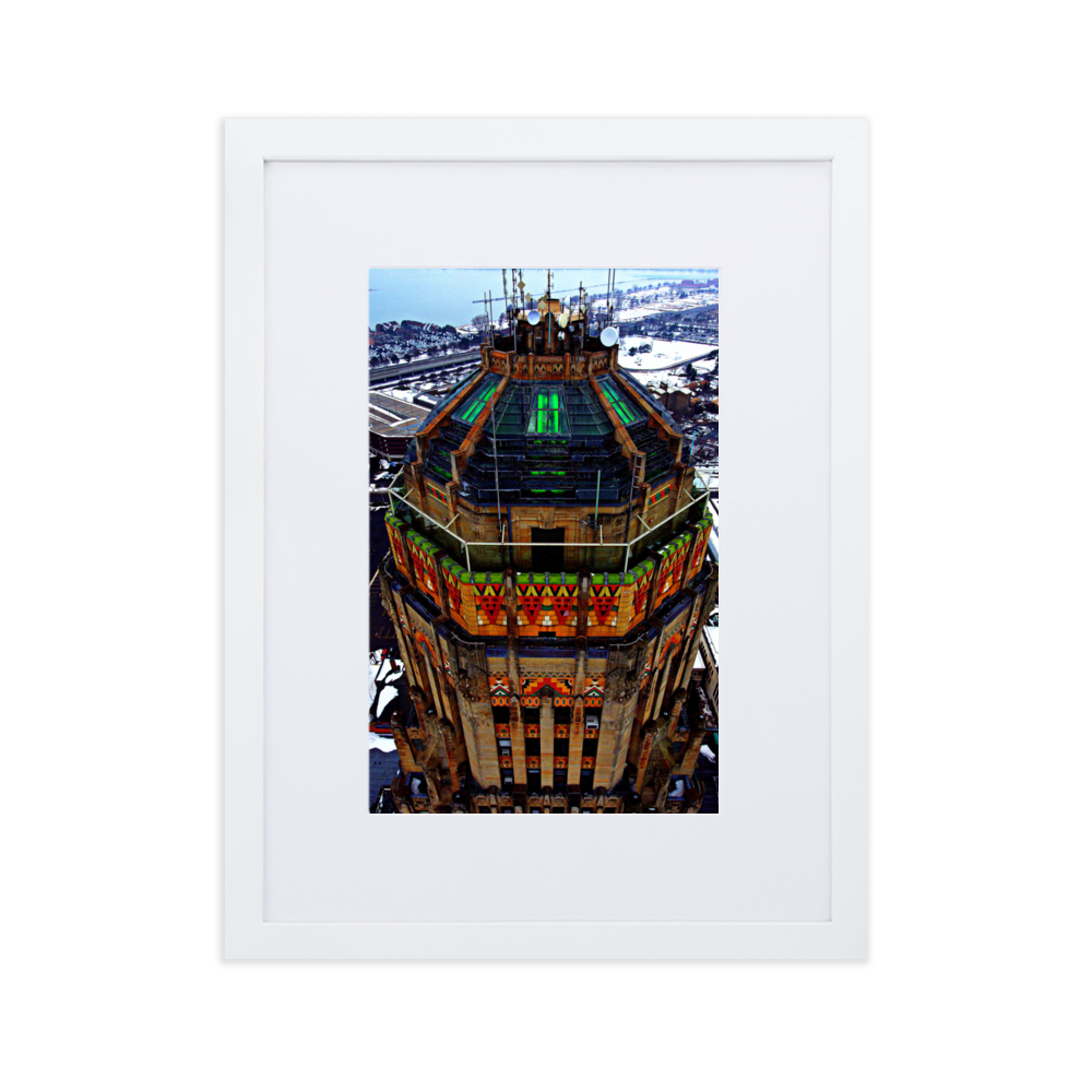 City Hall Tip Framed Poster With Mat
