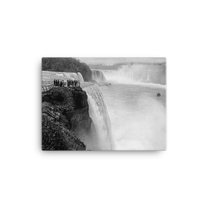 Prospect Point Niagara Falls Historical Canvas