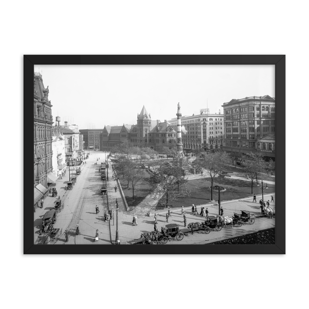 Larkin Square c1905 Framed Poster