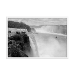 Prospect Point Niagara Falls Historical Framed Poster