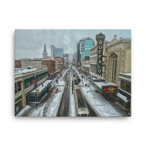 Main st. Buffalo Color Canvas