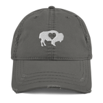 Buffalove Distressed Hat