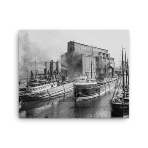 Great Northern Elevator c1901 Canvas