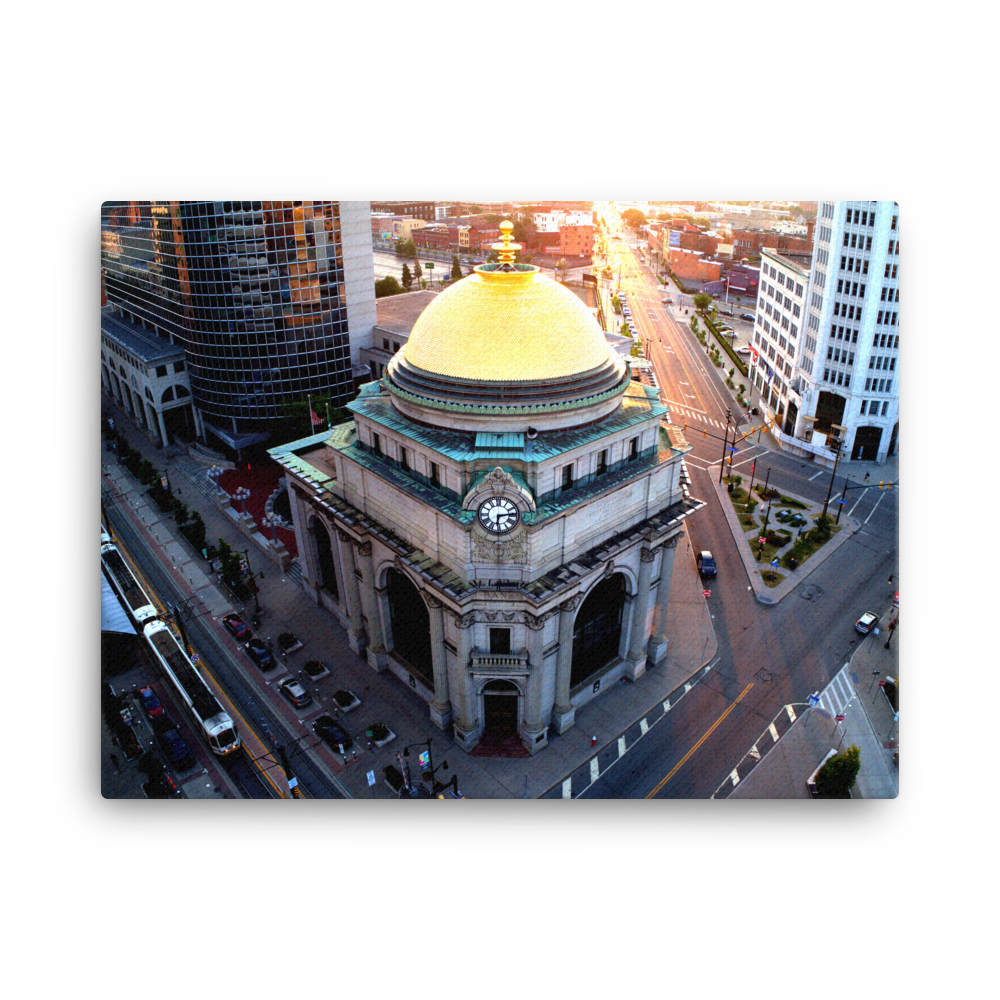 Gold Dome Canvas