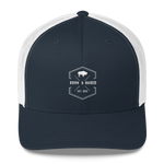Stamp Buffalo Trucker Hat