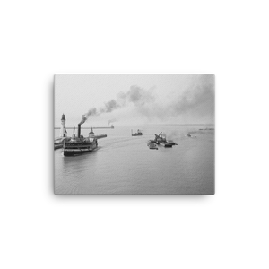 Buffalo Harbor Entrance Canvas