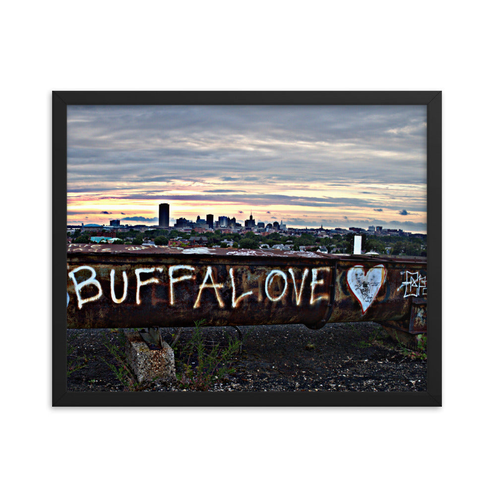 BUFFALOVE beam Framed photo paper poster