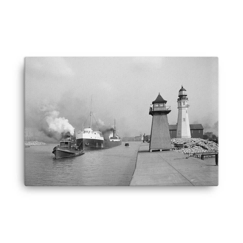 Buffalo Lighthouse Canvas