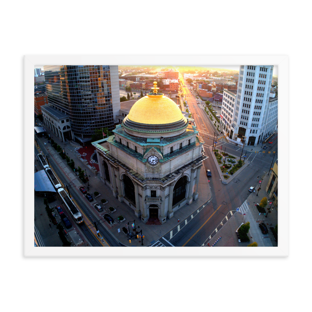 Gold Dome Framed poster