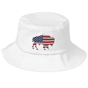 Buffalo USA Old School Bucket Hat